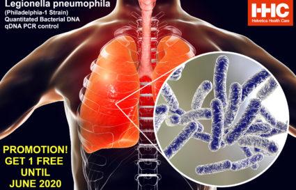 Buy 1x Legionella Pneumophila Control until 30 June 2020 and get 1 free!