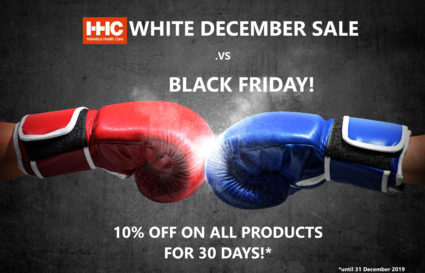 Fight of the century! 10% OFF for 30 days .vs 24 hours of Black Friday...